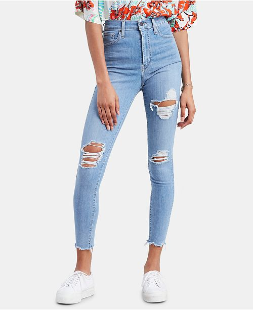 95a52e87f7d Levi s Mile High Super Skinny Jeans   Reviews - Jeans - Women - Macy s