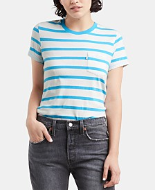 Levi's® Perfect Striped Cotton T-Shirt