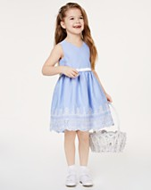 99f74ba586444 Rare Editions Toddler Girls Embroidered Gingham Dress