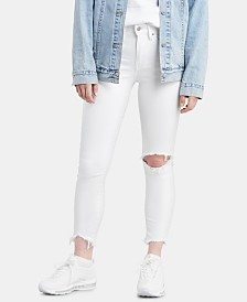 Levi's® 721 High-Rise Ripped Skinny Jeans