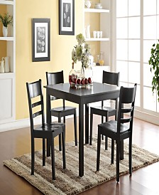 Veles 5-Piece Dining Set