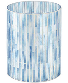 "JLA Home Atlantic Mosaic 7.87"" x 10"" Wastebasket"