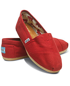 TOMS Women's Alpargata Slip On Flats