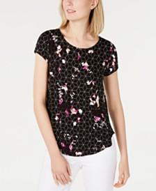 8f97778e568 3 4 Sleeve Women s T-Shirts   Tees - Macy s