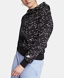 Sportswear Logo-Print Fleece Hoodie