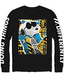 Joe Cool Snoopy Long-Sleeve Men's Graphic T-Shirt