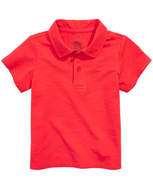 First Impressions Baby Boys Cotton Polo, Created for Macy's