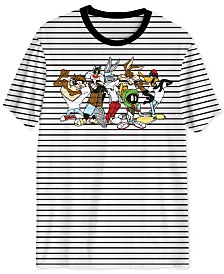 Looney Toons Striped Men's T-Shirt