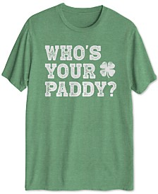 Who's Your Paddy? Men's Graphic T-Shirt