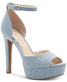 8402df075fc17 Jessica Simpson Beeya Two-Piece Platform Sandals, Created for Macy's