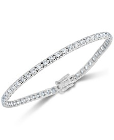 Diamond (2 ct. t.w.) Tennis Bracelet in 14k White Gold