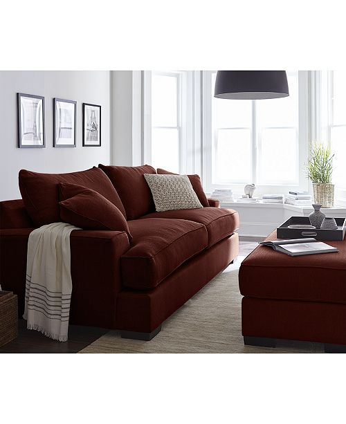Miraculous Ainsley Fabric Sofa Living Room Collection Created For Macys Theyellowbook Wood Chair Design Ideas Theyellowbookinfo