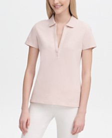 Calvin Klein V-Neck Polo