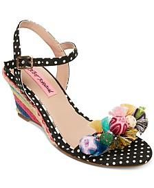 Betsey Johnson Koko Wedge Sandals