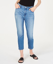Eileen Fisher Cropped Skinny Jeans