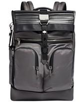 806fa640546f5 Tumi Men s London Alpha Bravo London Roll-Top Backpack