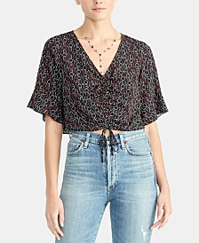 RACHEL Rachel Roy Siena Cinch-Front Top, Created for Macy's