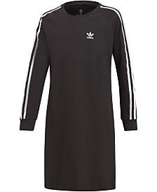 adidas Originals Big Girls 3-Striped Dress