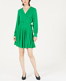Bar III Wrap Dress, Created for Macy's