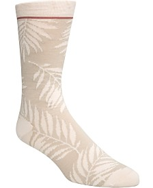 Cole Haan Men's Printed Crew Socks