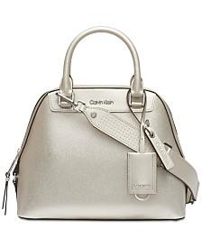 Calvin Klein Clara Satchel