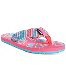 Nautica Little & Big Girls Angelfish Flip-Flops
