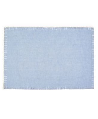 CLOSEOUT! Chambray Placemat, Created for Macy's