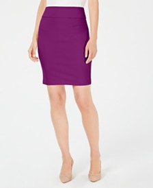 Alfani Crepe Pencil Skirt, Created for Macy's