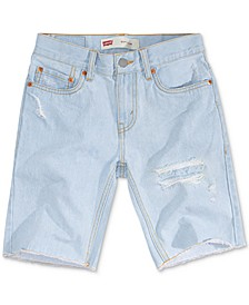 Little Boys 511 Distressed Slim Denim Shorts