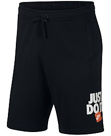 Nike Men's Sportswear Just Do It Fleece Shorts