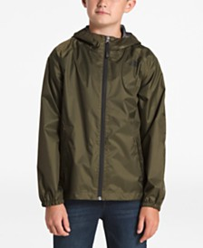 The North Face Big Boys Zipline Hooded Rain Jacket