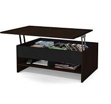 "Small Space 37"" Lift - Top Storage Coffee Table"