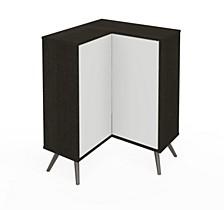 Small Space Krom Corner Storage Unit