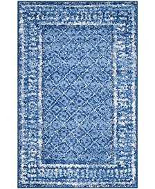 Adirondack 110 Light Blue and Dark Blue Area Rug Collection
