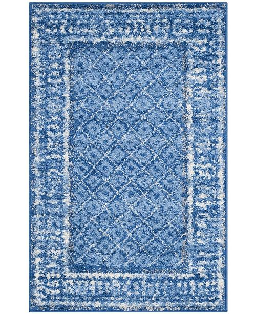 Safavieh Adirondack Light Blue and Dark Blue 3' x 5' Area Rug