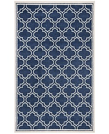 Safavieh Amherst Navy and Ivory 10' x 14' Area Rug