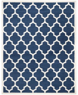 Amherst Navy and Beige 10' x 14' Area Rug