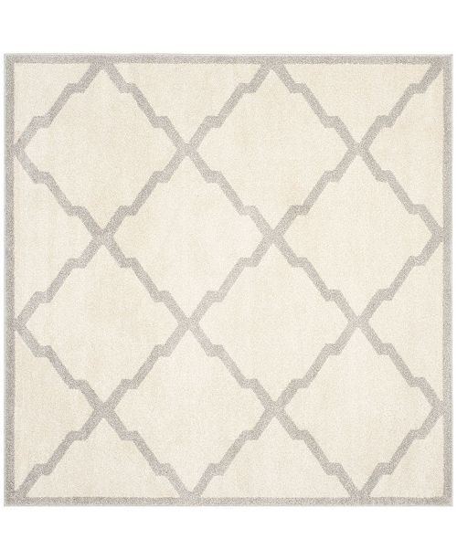 Safavieh Amherst Beige and Light Gray 5' x 5' Square Area Rug
