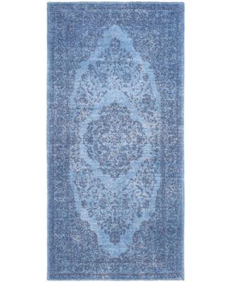 Classic Vintage Blue 3' x 5' Area Rug