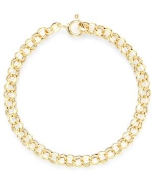 Charm Bracelet in 14k Gold