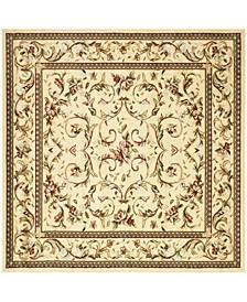 Lyndhurst Ivory 10' x 10' Square Area Rug