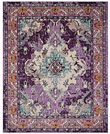 Monaco Violet and Light Blue 9' x 12' Area Rug