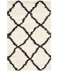 """Belize Ivory and Charcoal 2'3"""" x 5' Area Rug"""