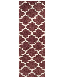 "Montreal Rose and Ivory 2'3"" x 7' Runner Area Rug"