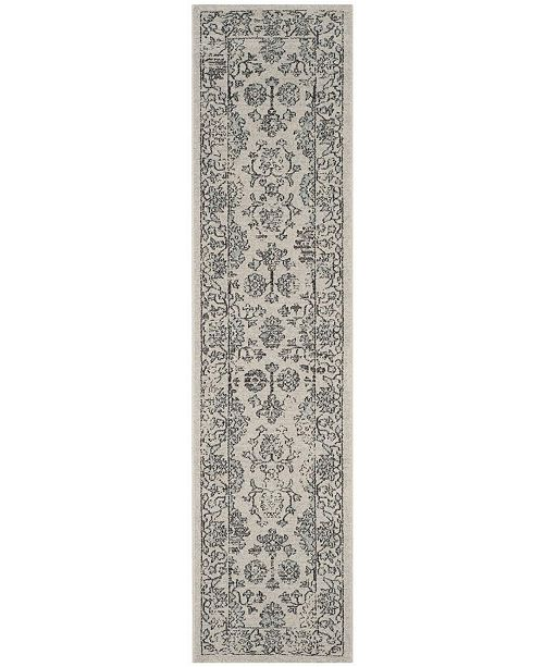 Safavieh Carmel Beige and Blue 2' x 10' Runner Area Rug