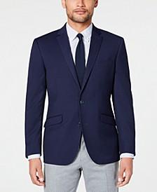 Men's Slim-Fit Stretch Textured Sport Coat