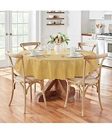 "Elrene Plaid 70"" Round Tablecloth"