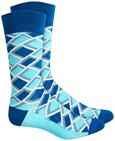 Men's Diamond Socks, Created for Macy's