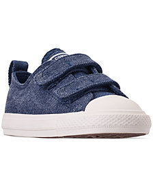 Converse Toddler Boys' Chuck Taylor Washed Out Ox Casual Sneakers from Finish Line