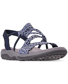 Skechers Women's Reggae Slim - Stretch Appeal Sandals from Finish Line